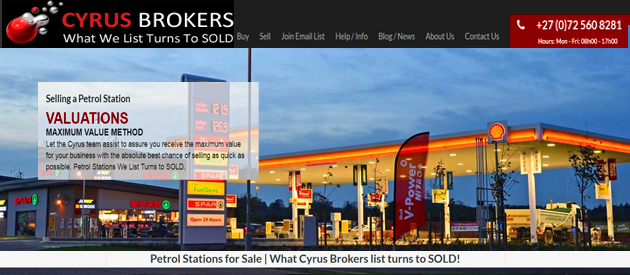 PETROL STATION FOR SALE - CYRUS BUSINESS BROKERS